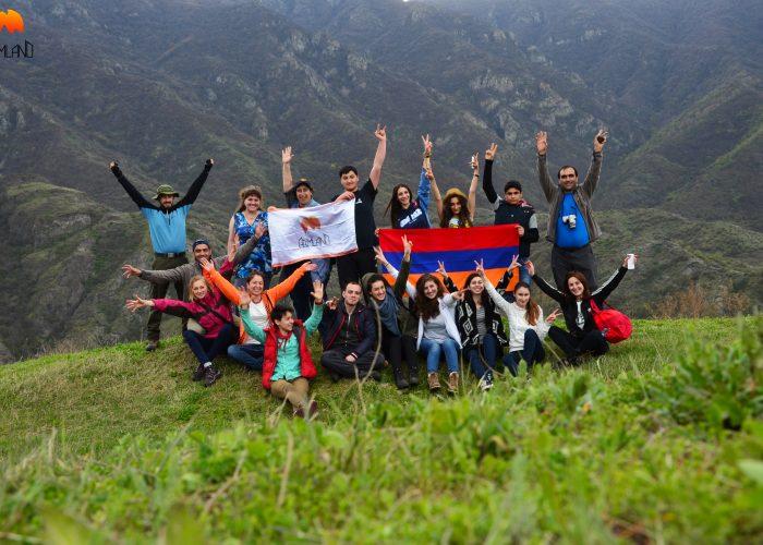 Canyons in Armenia